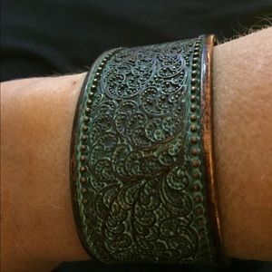 Jewelry - 🌀Antique-look Copper Bangle🌀